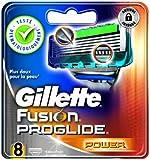 Gillette Lames Fusion Proglide Power Testé Dermatologiquement x 8