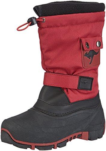 KangaROOS Kanga-Bean 2007, Stivali da neve Unisex - bambino, Rosso (Rot (red 600)), 36