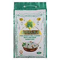 Sinnara White Long Grain Basmati Rice, 5 Kg
