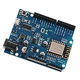F Fityle 2 Stück Wifi Modul ESP8266 Entwicklungsboard IDE für Arduino UNO WeMos D1