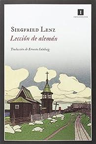 Lección de alemán par Siegfried Lenz