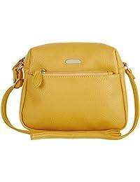 Lavie Sara Women's Sling Bag (Ocher) (STBR924096N2)