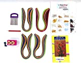 #10: Quilling kit with design book and earring hooks