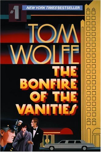 Book cover for The Bonfire of the Vanities