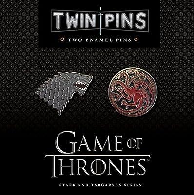 Game of Thrones House Stark & Targaryen Twin Pin Set