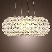 Vi Xixi Moderne Esstisch Pendelleuchte Kristall Design Hängelampe  Minimalistische Wohnzimmer Schlafzimmer Kreative Persönlichkeit Acryl  Crystal