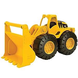 Crayola- Disney Caterpillar Vehículo De Obras Públicas Y Construcción Mini Workers Pala Cargadora (Toy State 82013)
