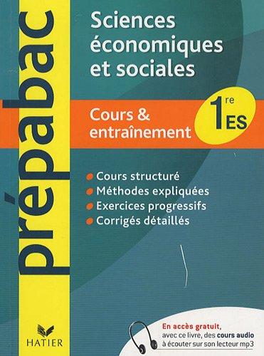 Sciences économiques et sociales 1e ES