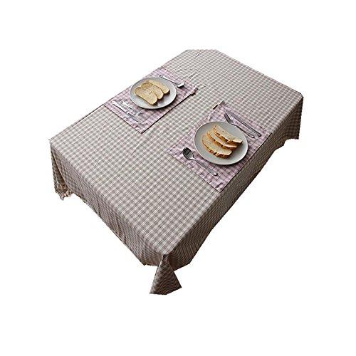 mantel-restaurante-hotel-mantel-de-lino-rectangular-del-enrejado-inicio-140220cm