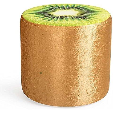 Cambio sgabello basso sgabello creativo piccolo sgabello tondo poggiapiedi Sgabello Divano Sgabello panno di frutta Stool (una varietà di stili opzionali) ( colore : E. )