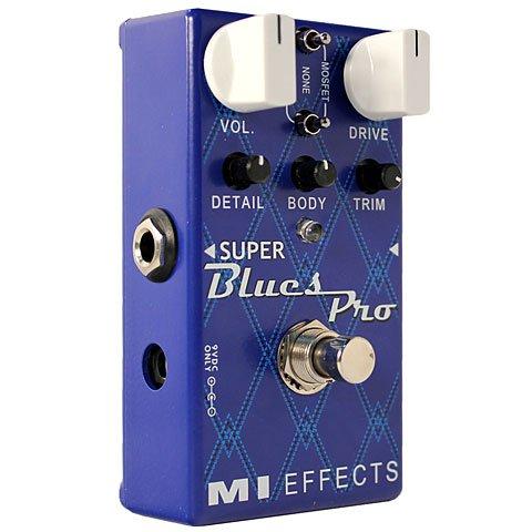 MI Audio Super Blues Pro · Pedal guitarra eléctrica
