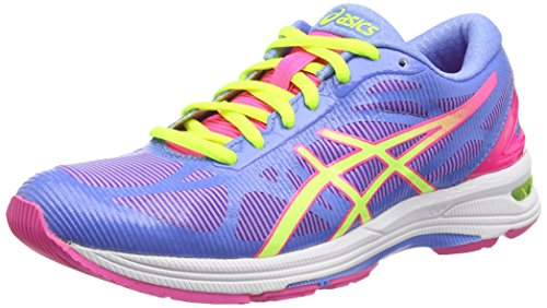 ds racer Asics Gel-ds Trainer 20, Damen Laufschuhe, Blau (powder Blue/flash Yellow/hot P 4707), Gr. 39.5 EU (6 UK)
