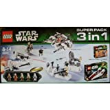 Lego 66449 Star Wars Super Pack 3 in 1 // beinhaltet 75000 + 75003 + 75014