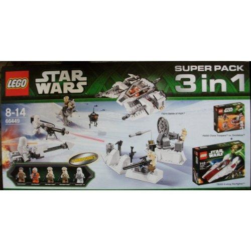 Preisvergleich Produktbild Lego 66449 Star Wars Super Pack 3 in 1 // beinhaltet 75000 + 75003 + 75014
