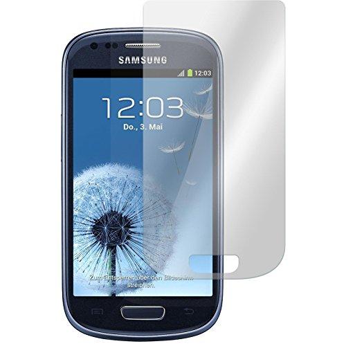PhoneNatic 2 x Glas-Folie klar kompatibel mit Samsung Galaxy S3 Mini - Panzerglas für Galaxy S3 Mini