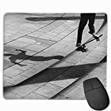 ASKSSD Tappetino per Mouse Non-Slip Mouse Pad Rectangle Rubber Mousepad Skate Man Print Gaming Mouse Pad