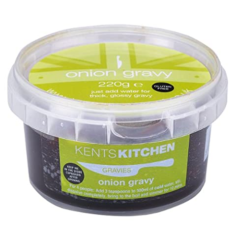 Kents Kitchen Gluten Free Onion Gravy Concentrate 220g (Pack of 2)