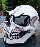 Bulzeye Skull Helme Original Skullhelmet Showhelmet New Collection Helmet Biker Show Helme Size M/L...