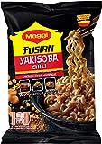 Maggi Fusian Yakisoba Noodles Chili Fideos Orientales - Paquete de 120 gr