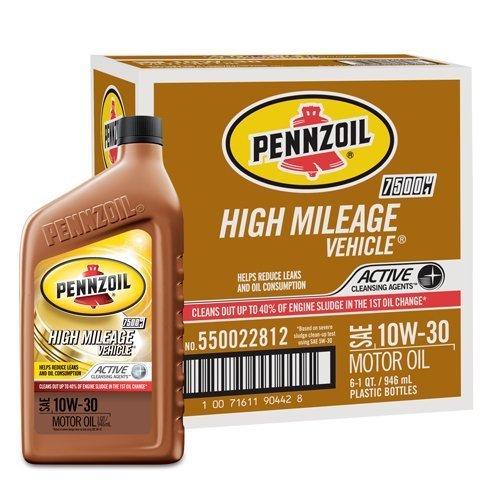 pennzoil-550022812-6pk-10w-30-high-mileage-vehicle-motor-oil-1-quart-pack-of-6-by-pennzoil