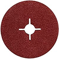 25X Discos de fibra (lija hojas 115mm grano = 40para amoladora angular