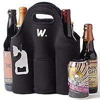 Transport vos boissons froides et sûr dans ce Winston York Premium sac pour bouteille de bière. Cette bouteille permet de garder vos boissons froides jusqu'à 4heures. Avec un construit en ouvre-bouteille de sorte que vous êtes toujours prêt pour la ...