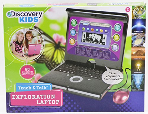 Spielzeug Kids Discovery (Discovery Kids Teach and Talk Exploration Laptop in Pink)
