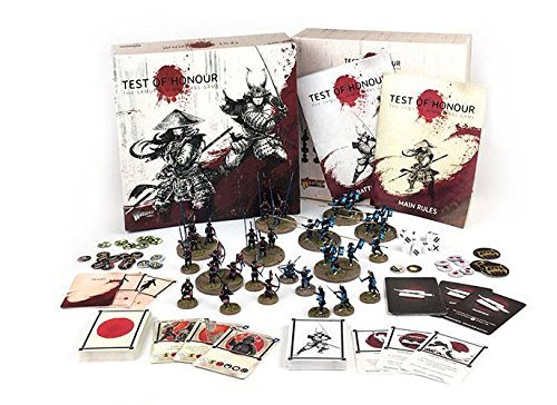 Warlord Games 761510001 - Test der Ehre - Samurai Miniatures Game - Enthält 35x 28mm Miniaturen