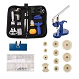 Kit Reparation Outil Montre Horloger Professionnel - STAGO 502pcs Montre Outils Kit de Outils Horloger,Presse Boitier Montre (502)