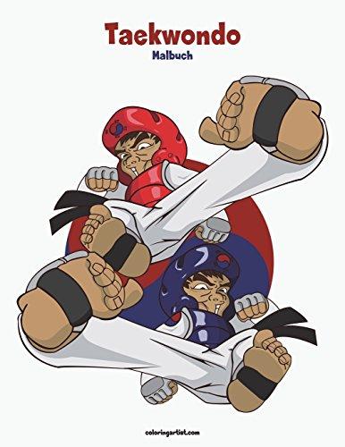 Taekwondo-Malbuch 1: Volume 1 por Nick Snels