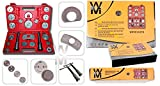 Wondermantools® Set di ripristino pistone del freno 23 pezzi