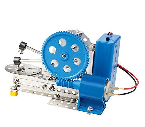 EITECH - 00007 Metallbaukasten - Getriebeset, 250-teilig