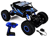 Saffire Remote Controlled Rock Crawler RC Monster Truck, Blue