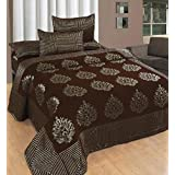 Bedsheets For Double Bed Cotton(Premium Chenille 1 Double Bedsheet With 2 Pillow Cover, Size -Bedsheet- 230x250 Cms, Pillow -45x70 Cms)