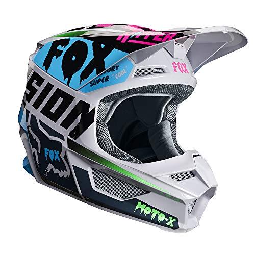 Fox Helmet V-1 Czar Light Grey Xl