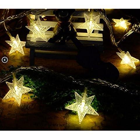 LLLDB Flash Led Lanterna Luce Perla Petokraka Lampade Stringa Giornata Nazionale Per Le Vacanze Di Natale, Decorato Di Nozze Luce Stringa Impermeabile In Rame ,10 M Verde ,5