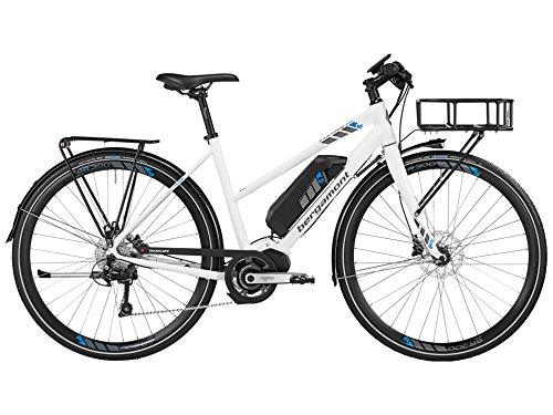 Bergamont E-Line Sweep Deore Shimano Damen Pedelec Elektro Fahrrad weiß/grau/blau 2016: Größe: 56cm (177-184cm)
