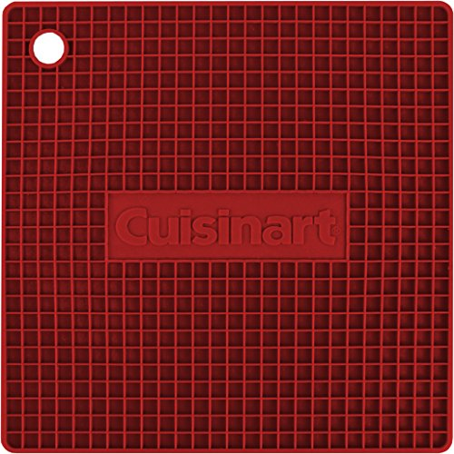 Cuisinart quadratisch Silikon Untersetzer/Topflappen rot Cuisinart Gadgets
