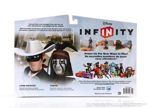 Disney Infinity Pack Play Set El Llanero Solitario : Play Set + 2 Figuras (El Llanero Solitario y Toro)