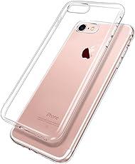 Snnisttek Hülle für iPhone 8/iPhone 7, iPhone 8/7 Ultra Slim Schutzhülle Case -Crystal Clear Ultra Dünn Durchsichtige Silikon Backcover Handyhülle TPU Case für iPhone 8/7 (Transparent)