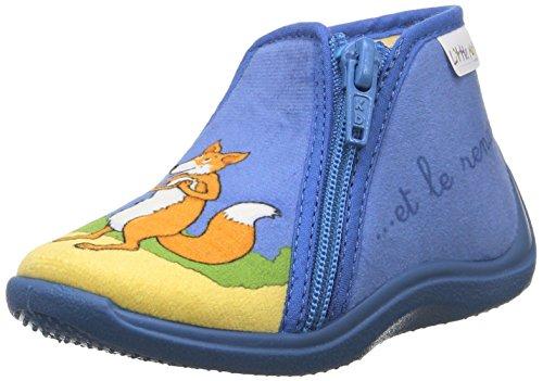 Little Mary Zecorbeau, Chaussures Premiers pas mixte bébé Bleu (Bleu Ciel)