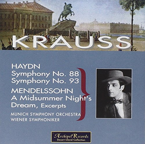 HAYDN - MENDELSSOHN - Clemens Krauss