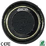 Bluetooth Ducha altavoz Impermeable IP67 Radio FM para ducha -Smilin- Altavoz V3.0 impermeable...