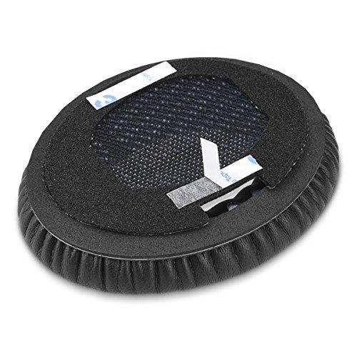 kwmobile 2X Ohrpolster für Bose Quietcomfort Kopfhörer - Kunstleder Ersatz Ohr Polster für Bose Overear Headphones - 6