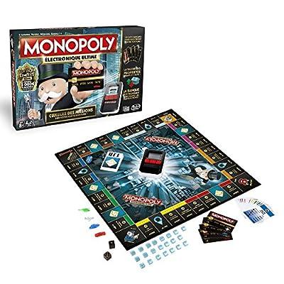 Hasbro - B6677 - Jeu de Plateau - Monopoly Electronique Ultime