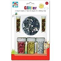 Anker Kids Create/Arts Manualidades y con Purpurina y Confeti Set, de plástico,, 29,7x 21x 2cm