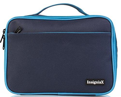 Lunchbox Kinder S1: InsigniaX Lunchbag/Lunchtasche/Lunch Bag/Tasche/Box für Erwachsene Manner Frauen Tupperware Bento - Auslaufsicher BPA Frei Größe H: 25,4 cm x T: 9,7 cm x B: 17,8 cm (Standard, Navy Blau) (Thermos Lunch Bag Schwarz)