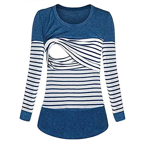 0d2d5d35c STRIR Camiseta De Mujeres Ropa para La Lactancia De Maternidad De ...