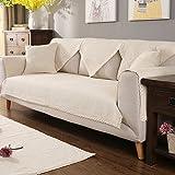 Linen sofa cover Winter slipcover sofa Four seasons - Best Reviews Guide