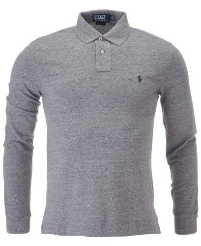 ralph-lauren-polo-uni-col-chemise-classique-homme-multicolore-multicoloured-gris-small